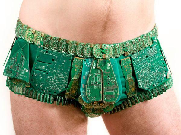Elektroniczne szorty.