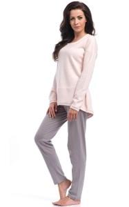 Ciepła piżama PM 8040 proponowana przez firmę Dobranocka.