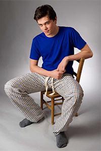 męska piżama
