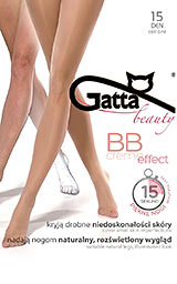 Bielizna Gatta - Rajstopy BB Creme Effect, kolor natural