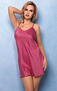 8ed30ae75548b6 Bielizna Vena - Koszulka VHL-375, kolor ciemny róż
